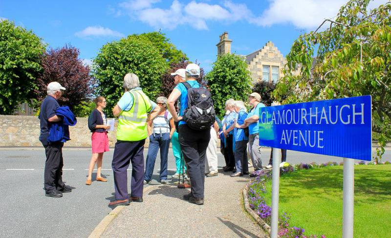Huntly Page - Colour walk with the CHW