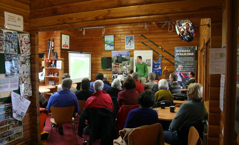 Path makers Gathering — River talks at the Nordic Ski centre