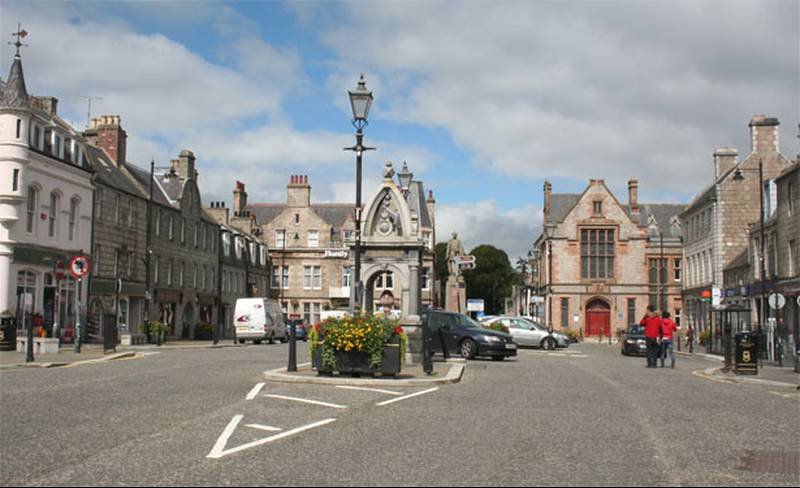 Huntly Page - The Square