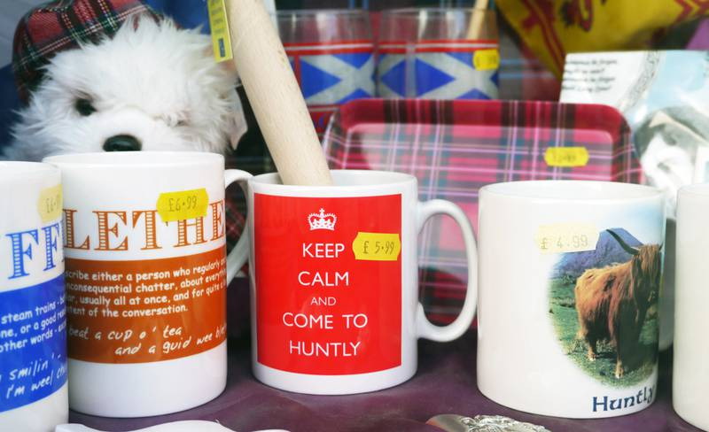 The Caravan Gallery -Keep calm and come to Huntly