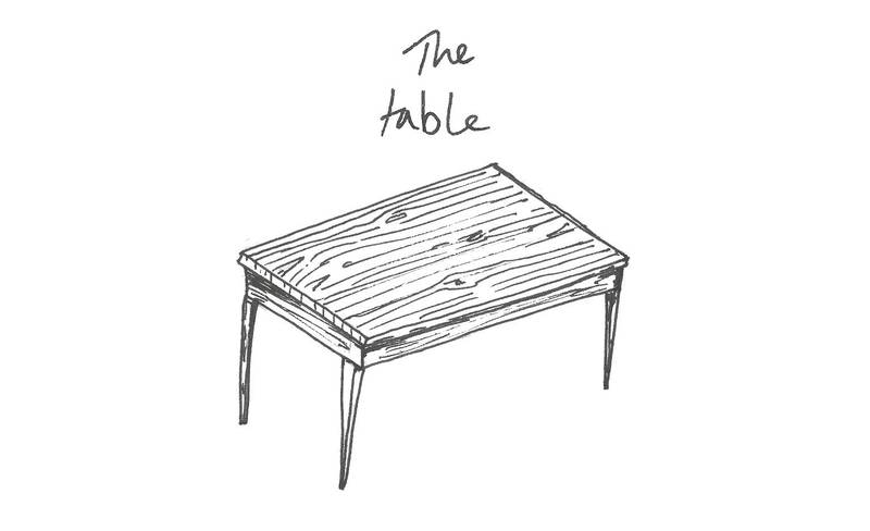 Town is the Garden — The Table